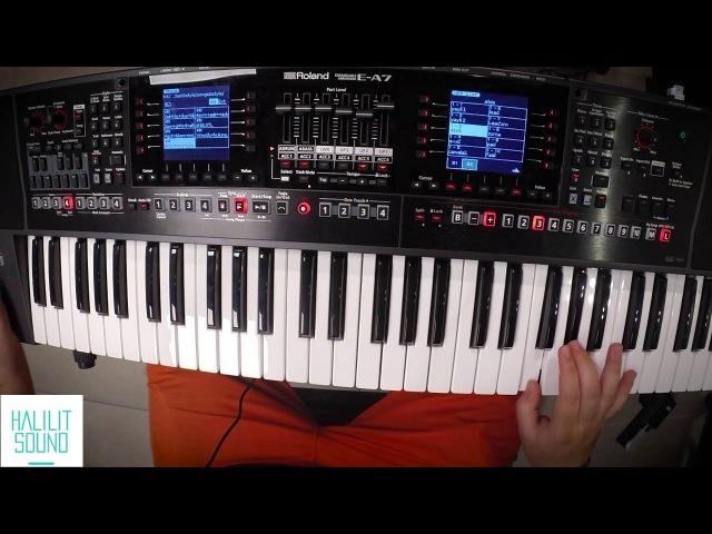 Roland E-A7 - Turkish Medley Demo by Atesh Barak
