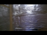Работы по утеплению душевой комнаты (13 мая 2018)
