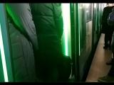 Давка из-за поезда