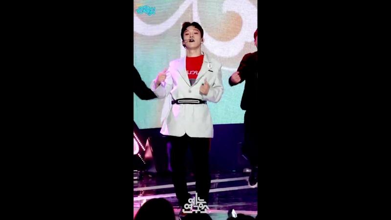[예능연구소 직캠] 엑소 첸백시 花요일 첸 Focused @쇼!음악중심_20180421 Blooming Day EXO-CBX CHEN
