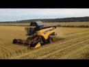 Тракторы и комбайны вязнут в грязи или для чего нужен гусеничный ход