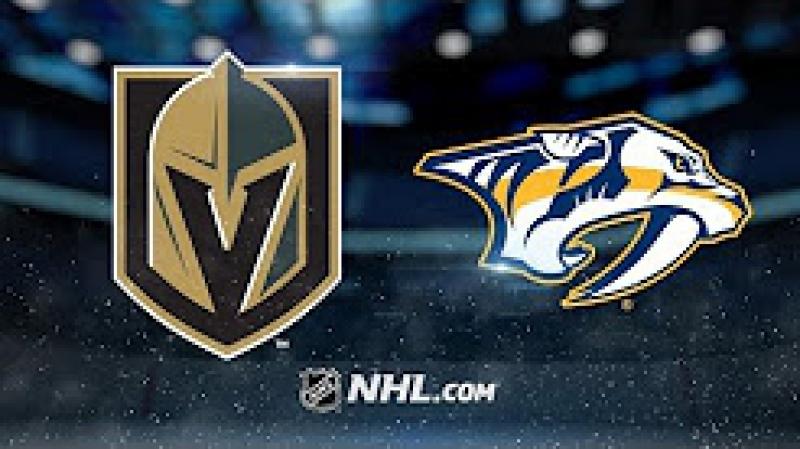 НХЛ - регулярный чемпионат. Нэшвилл Предаторз - Вегас Голден Найтс - 1:0 (0:0, 0:0, 1:0)