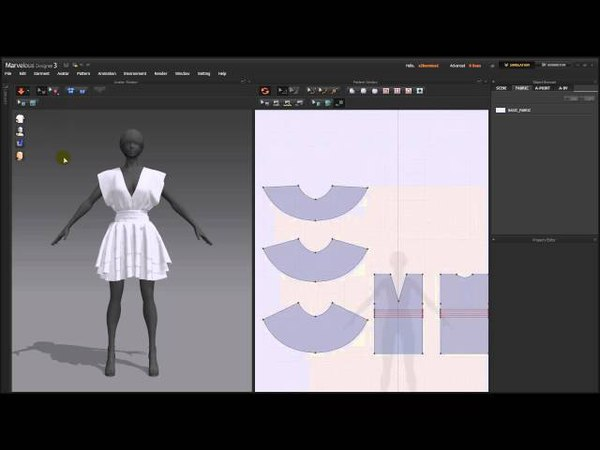 [MD3] Lesson4. Designating Texture 'About Fabrics'