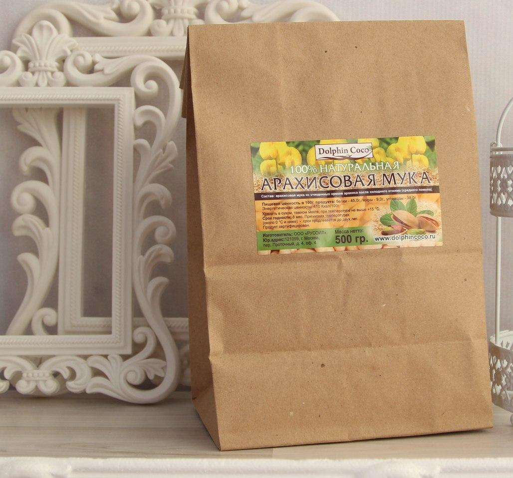 арахисовая мука (уп.500 гр)