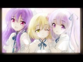 Tenshi no 3P! 12 серия END русская озвучка Mutsuko Air / Ангельское трио 12 / А вот и три ангела! / Here Comes the Three Angels
