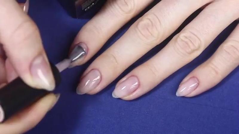 Простой Дизайн ногтей Френч Простой Свадебный дизайн ногтей Обзор GGA professi