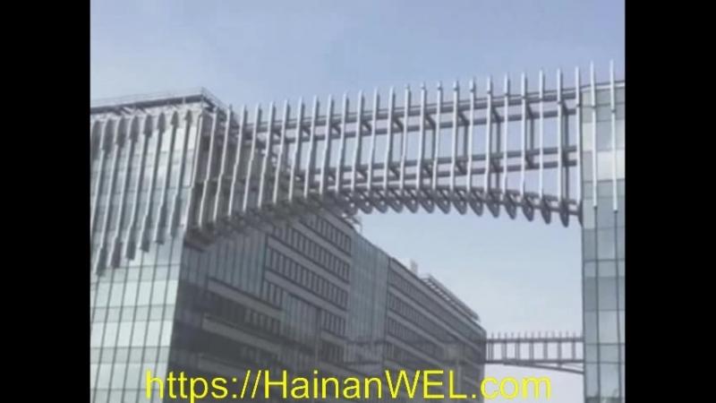 Аэропорт Мейлань в Хайкоу остров Хайнань Китай самый большой аэропорт Хайнаня экскурсия на видео