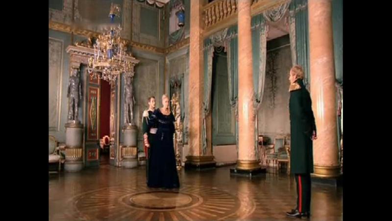 Бедная Настя - Александра жалеет своего сына.Император ругает своего сына из-за дуэли!(club_role_play_bednaya_nastya)