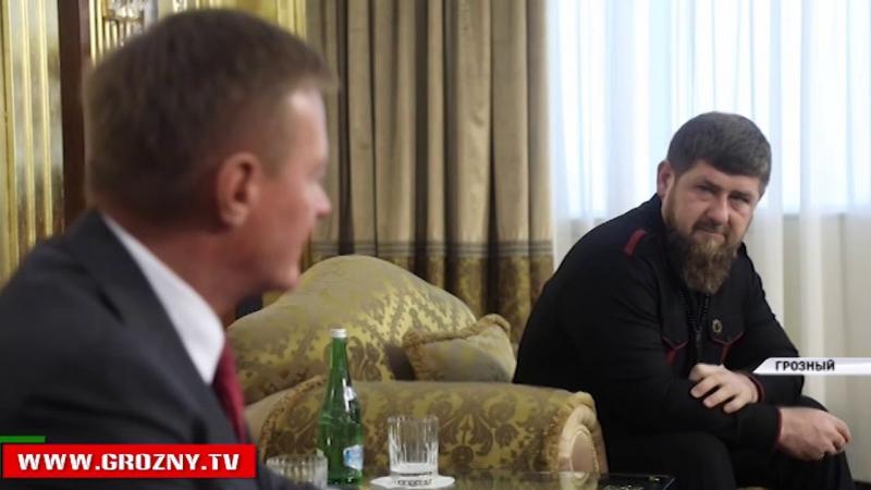 Рамзан Кадыров встретился с руководителем Федерального дорожного хозяйства Романом Старовойтом