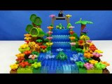 Строим из Lego Duplo - Build and Play toys Lego - waterfall in the jungle