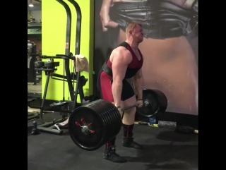 Павел Наконечный, тяга 360 кг