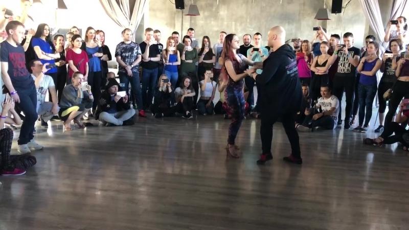 Alex Kostenko y Maria Luneva, bachata sensual workshops, Bachata's Nights 2018, Moscow