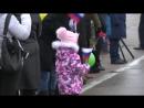 Возвращение экипажа самолета А-50 на аэродром в Ивановской области после выполне