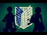 Леви и Микаса - Хватит Свистеть: Атака Титанов