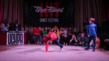 Hit The Floor vol.3 breaking kids final Vlad Dzey(win) vs B-girl Nasty