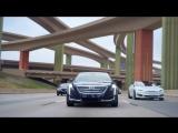 Реклама Cadillac с Tesla
