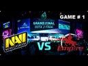 TECHLABS CUP RU 2013 GRAND FINAL: Dota 2 - Na'VI vs Empire game 1
