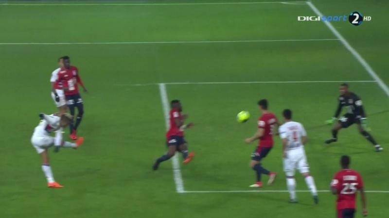 Чемпионат Франции 2017-18 26-й тур Лилль – Лион 2 тайм [720, HD]