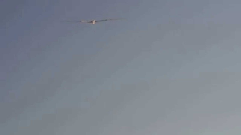 Giant scale glider__ Ronsperber 1.2,5 First fly