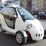 Трехколесный электромобиль, который собрали в России