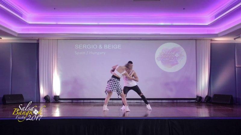 Salsa Bangkok Fiesta 2017 : SERGIO BEIGE