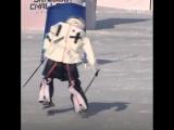 Роботы на горных лыжах