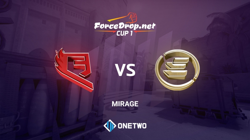 QB Fire vs EPG (de_mirage) | ForceDrop.net Cup 1