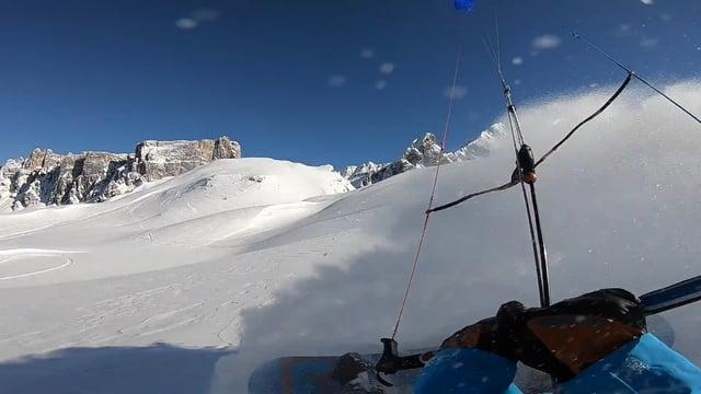 Snowkite Passo Giau 22 25 March 2018