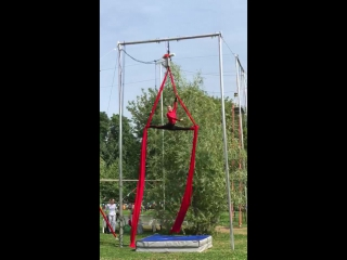 Второй Фестиваль Воздушной Гимнастики — Арина Аюпова (любители, 1 место)