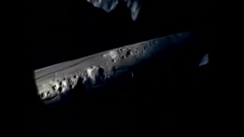 НЛО на Луне _ Кадры корабля APOLLO 20 - реальная съемка HD (UFO)