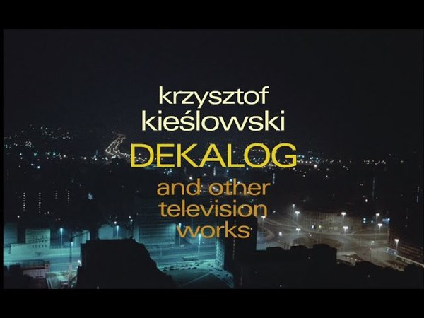 Dekalog and Other TV Works Trailer