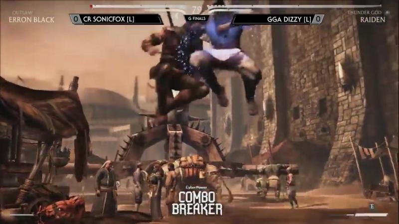 Combo Breaker 2015 MKX Grand Finals GGA Dizzy Raiden Vs SonicFox Erron Black mp4