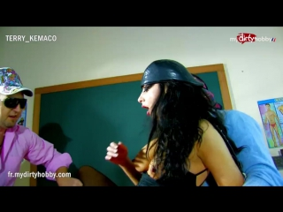 Slutty teacher gets dp [amateur, big tits, brunette, milf, threesome, double penetration, french, hd]