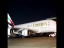 Emirates Airbus A380 Pre-Service Check (Эмиратов Airbus A 380 предварительная проверка)