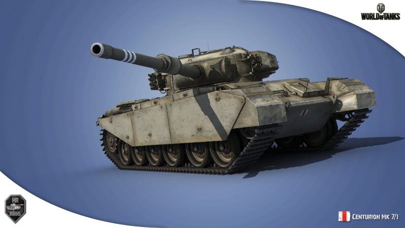 Centurion Mk 7-1 Непробиваемый поджигатель! В обороне!
