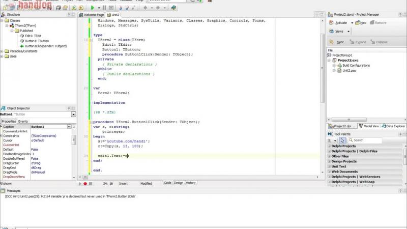Работа со строками Delphi. Pos, Copy, Delete, StringReplace