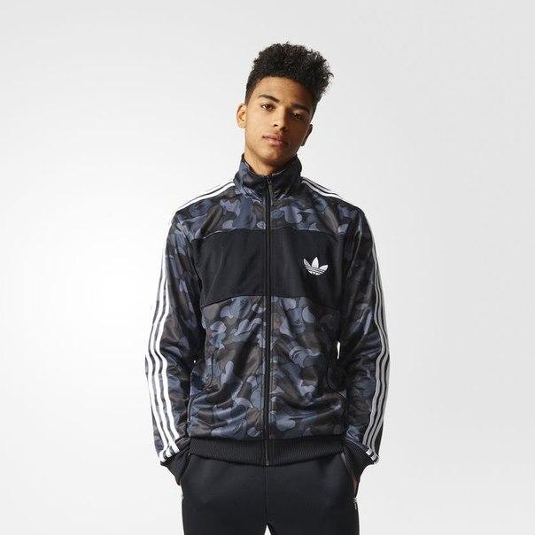 Олимпийка Bape x adidas Originals