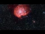 Погружение в эмиссионную туманность в созвездии Орион NGC 2174