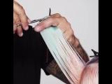 Женская стрижка с челкой