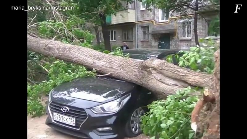 Новые шокирующие кадры урагана