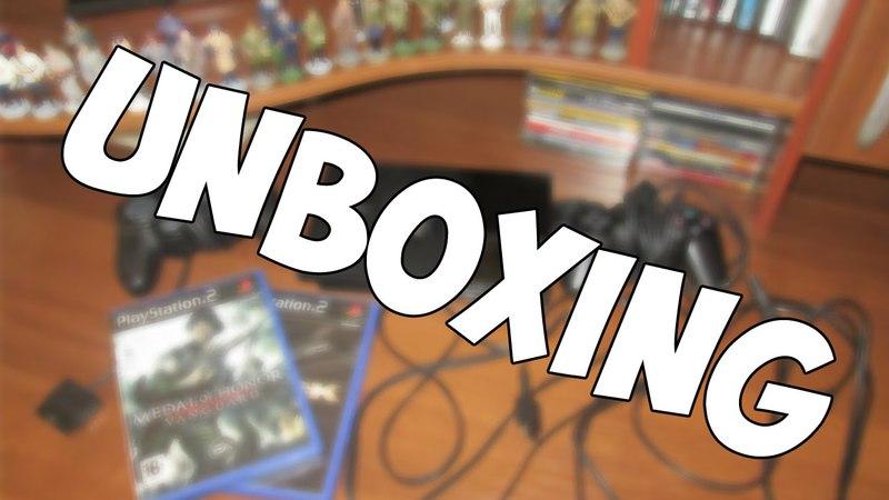 UnboxingРаспаковка - PlayStation 2