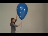 [Balloon Fetish Looner] rebecca with a blue