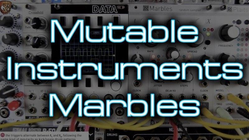 Mutable Instruments - Marbles (random sampler) *In Depth Eurorack Demo Tutorial*
