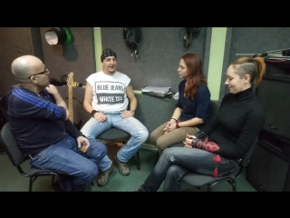My last interview in Donetsk.