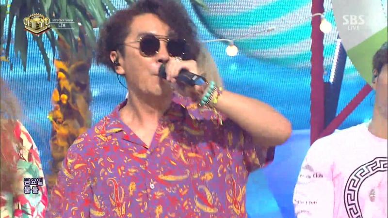 [Comeback Stage] 170730 Turbo (터보) - Like a Man (남자답게) Hot Sugar (뜨거운 설탕)