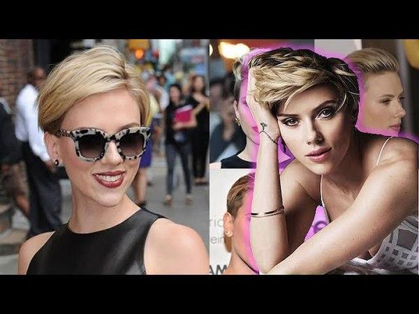 Top Of Scarlett Johansson Short Hairstyles - Celebrity Short Hair Ideas
