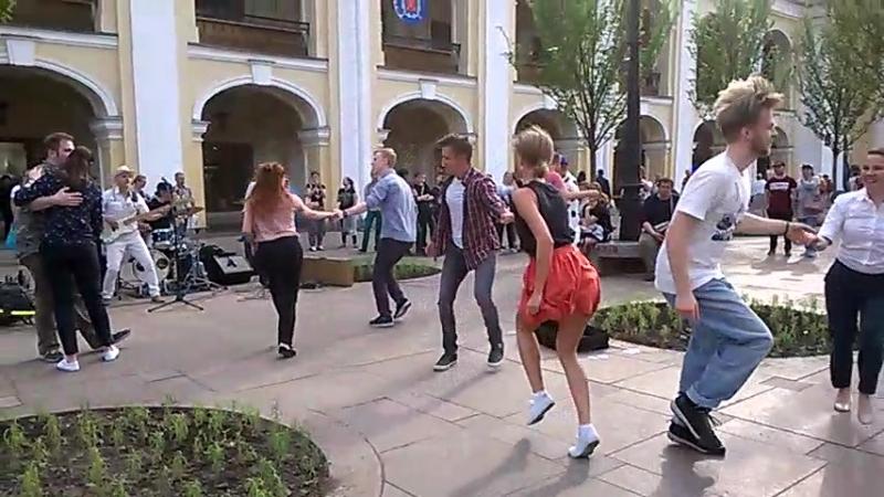 Опен у Гостинного с Forrest Gump