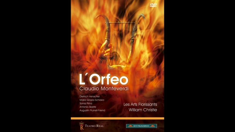 MONTEVERDI- L'ORFEO - New production from Teatro Real co-produced with Venice's la Fenice.-13.05.2008