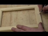 как сделать резную рамку под фотографию из сосны, резьба по дереву