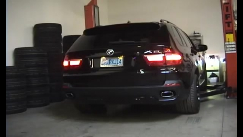Meisterschaft GT Exhaust Installed on BMW E70 X5 4.8i V8 (Stock vs. MGT)